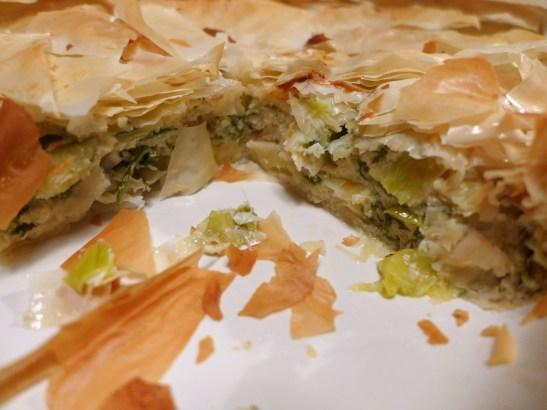 Image of pie, sliced