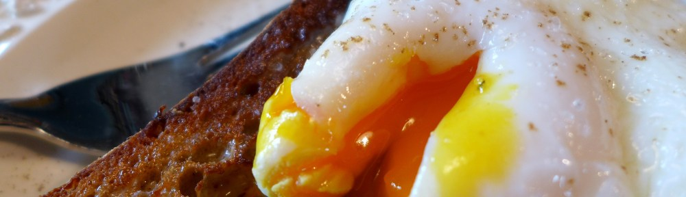 Image of a poached egg on toast