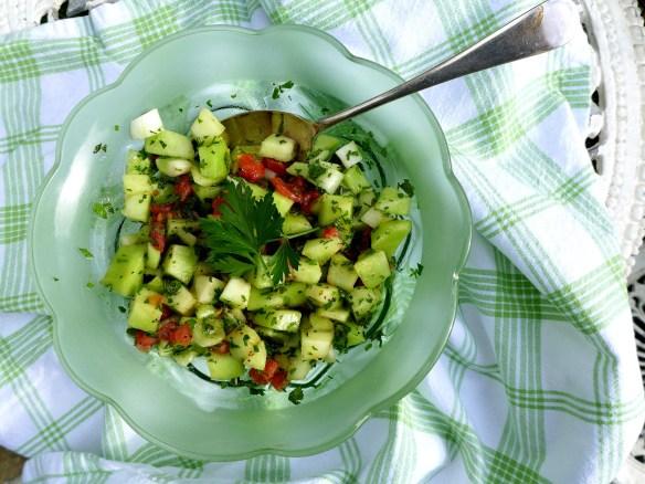 Image of melon salad