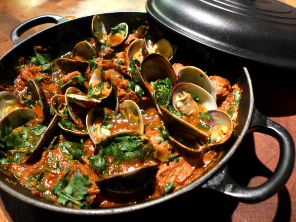 Image of Portuguese Pork and Clams
