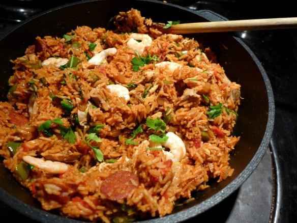 Image of Cajun-style chicken rice
