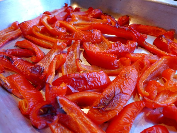 Image of roasted peppers