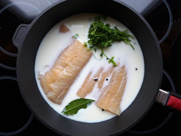 Image of haddock ready for poaching