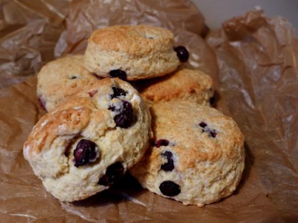 Image of blueberry buttermilk scones