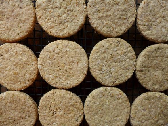 Image of rosemary and walnut oatcakes