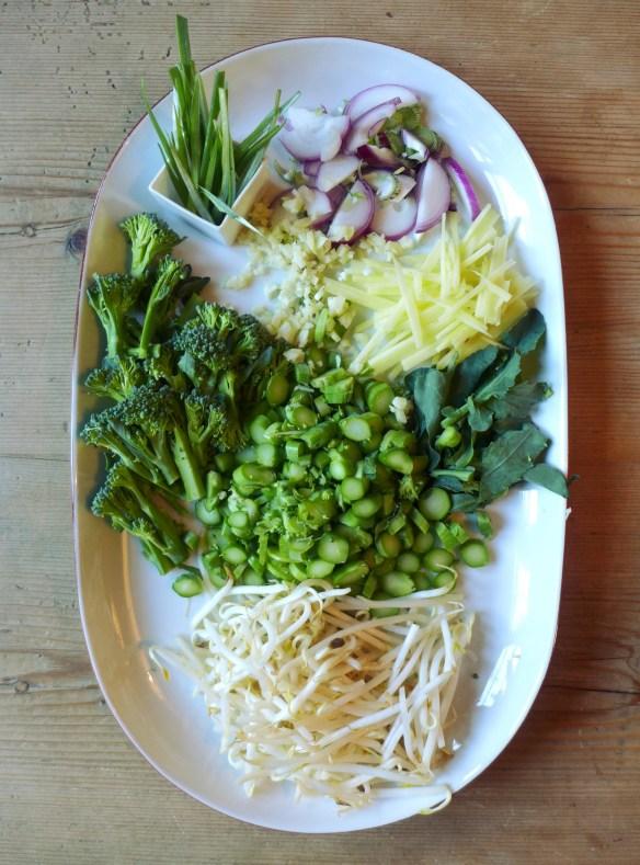 Image of prepped veg