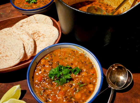 Image of Moroccan-spiced vegetable soup