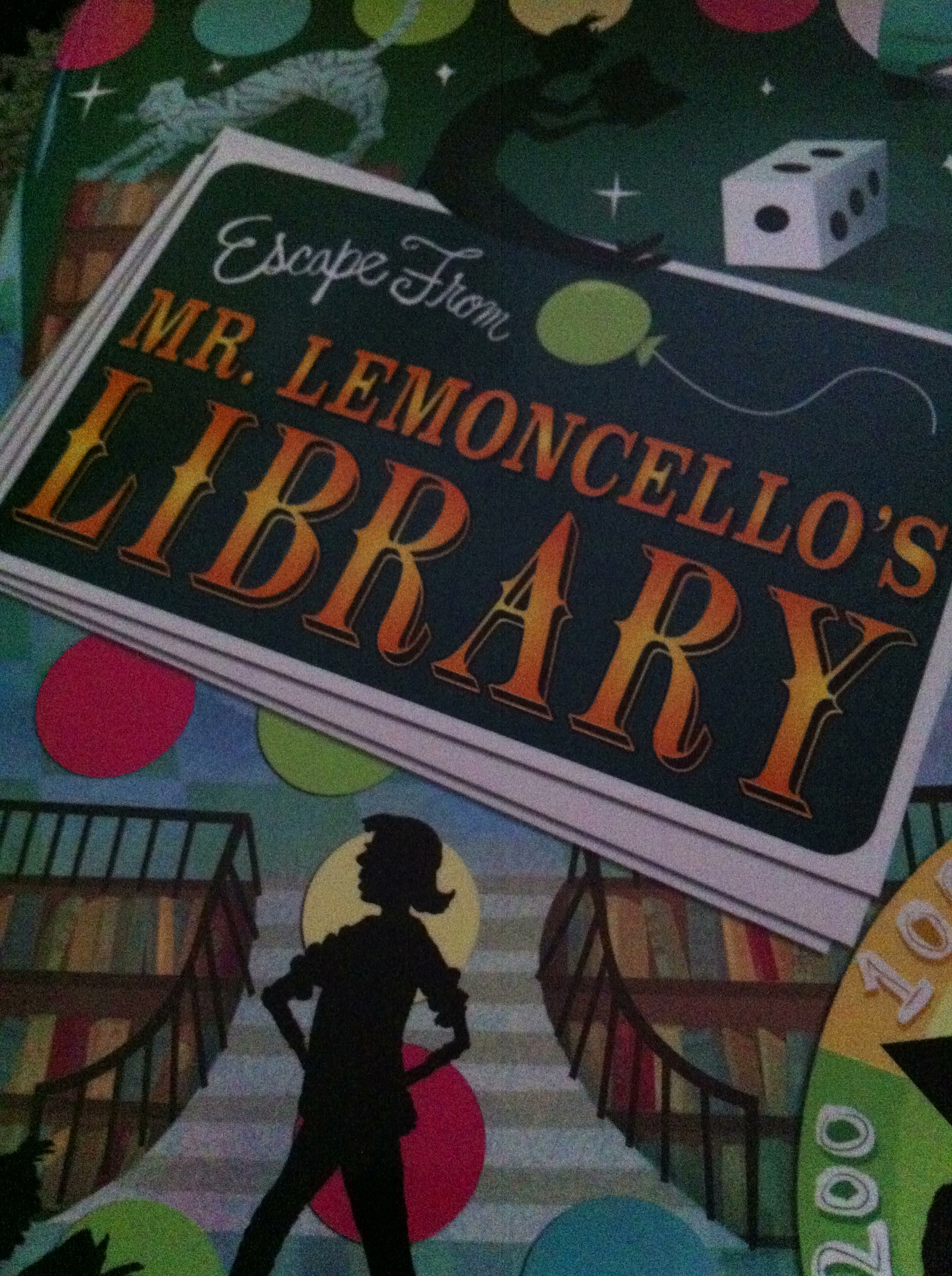Escape From Mr Lemoncello S Library By Chris Grabenstein