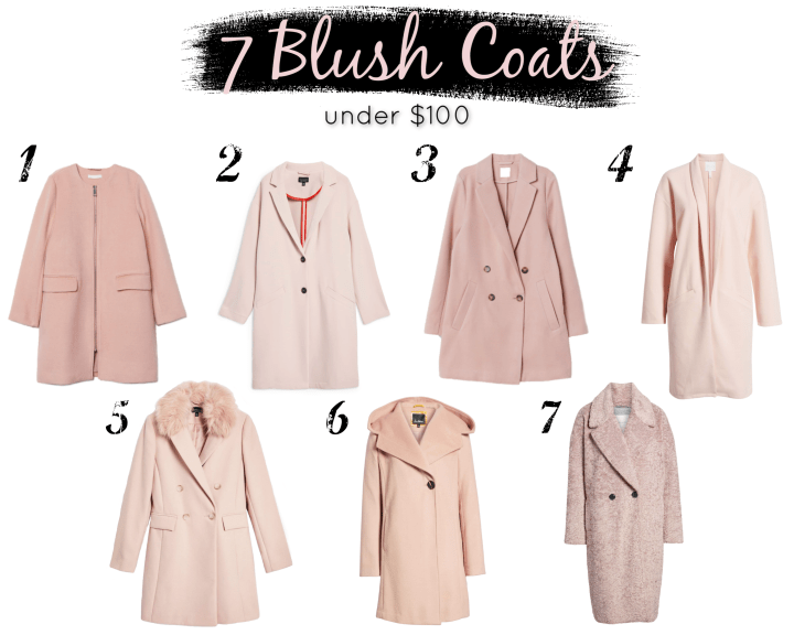 Pink Coats for Under $100
