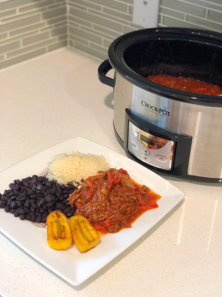 A Cuban-Inspired Dish