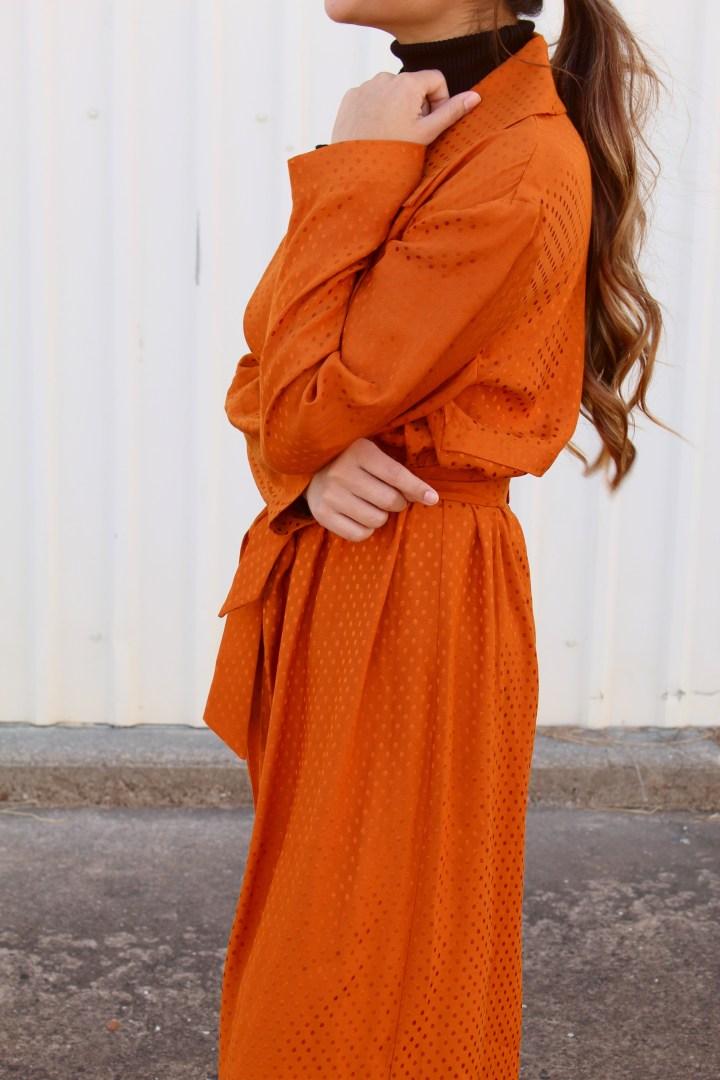 Rust Orange Coat