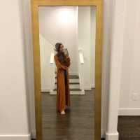 Brass Full-Length Mirror