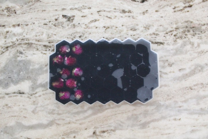How to Make Edible Floral Ice Cubes 4