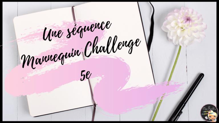 Séquence mannequin challenge 5e