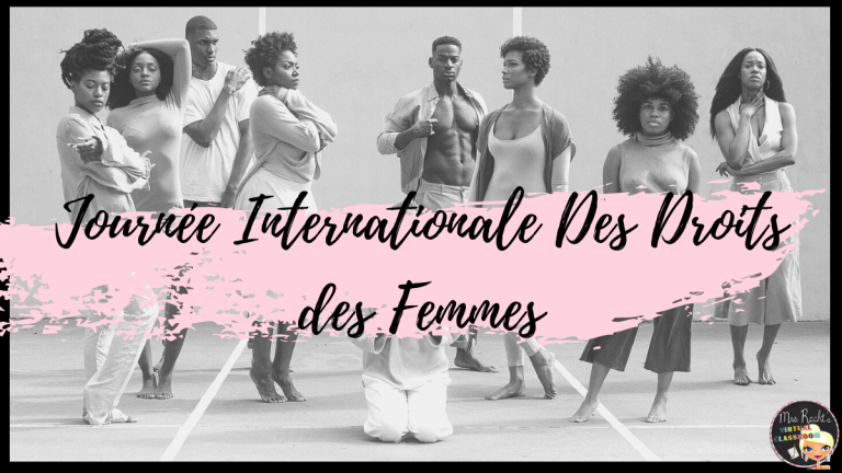 Journée Internationale des Droits des Femmes en cours d'anglais