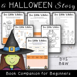 Two Little Witches Halloween Book Companion
