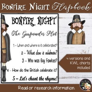 Bonfire Night Flapbook