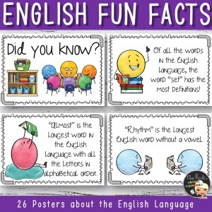 English Language Fun Facts