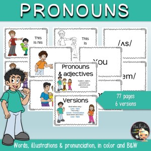 Pronouns Flashcards