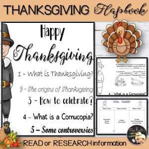 Thanksgiving Flapbook