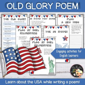 American Flag Poetry Unit