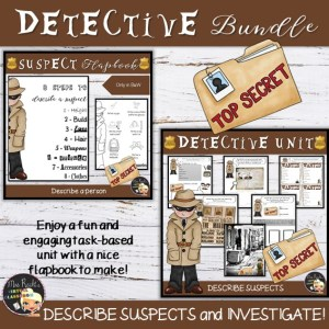 Police Investigation Unit Bundle