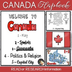 Canada Flapbook and Map