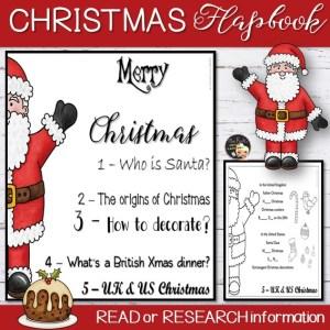 Christmas Flapbook