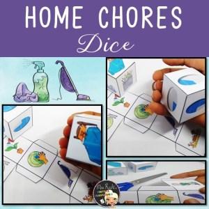 Home Chores Dice