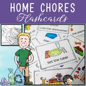 Home Chores Flashcards