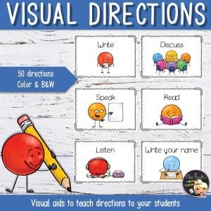 Flashcards Consignes illustrées