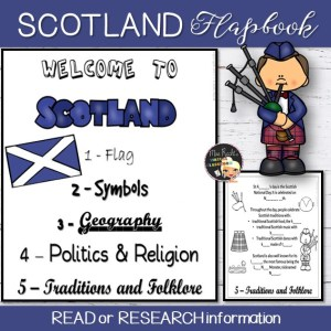 Scotland Flapbook