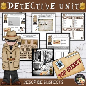 Detective Story Unit for beginners