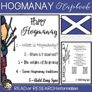Hogmanay Flapbook