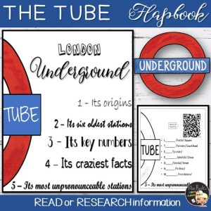 London Underground Flapbook