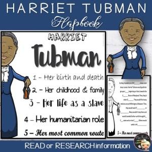 Harriet Tubman Flapbook