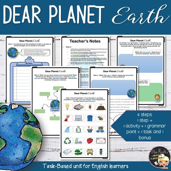 Séquence Dear Planet Earth 3e