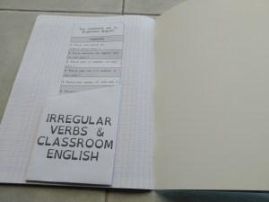 Fiche de mémorisation active anglais
