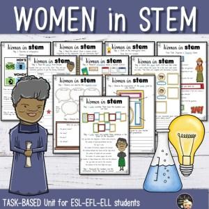 Séquence Women in STEM 5e