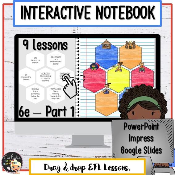 Cahier interactif numérique 6e - Partie 1