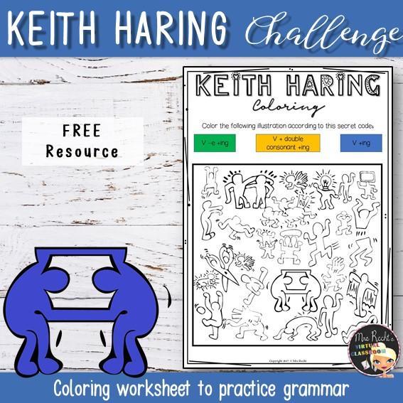 Séquence Keith Haring 5e
