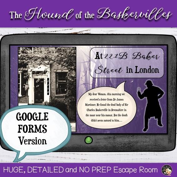 Escape Game Sherlock Holmes Numérique 4e