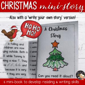 Activité Christmas Mini Story