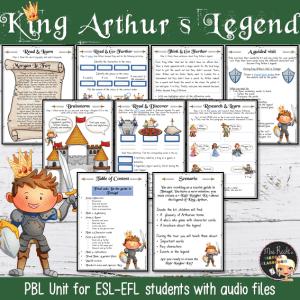 Séquence King Arthur 5e