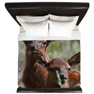 Baby Elk King Duvet