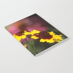 Colorful Daisy Flowers Notebook