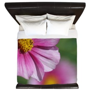 Colors of the Flowers of the Garden King Duvet