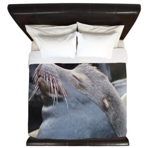 Oregon Sea Lion King Duvet