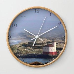 Pacific Coast Lighthouse Clock