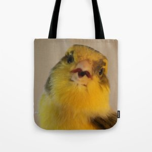 Singing Canary Tote Bag